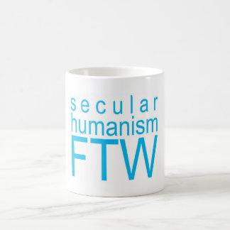 Humanismo secular FTW Taza Básica Blanca