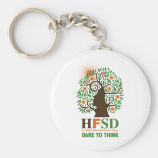 Humanist Fellowship - Dare to Think! Keychain