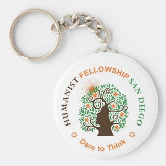 Humanist Fellowship of San Diego Logo Key Chain