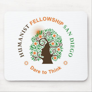 Humanist Fellowship of San Diego Logo Mouse Pad