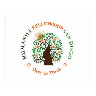 Humanist Fellowship of San Diego Logo Postcard