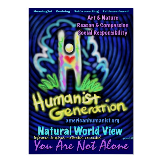 Humanist Generation Poster
