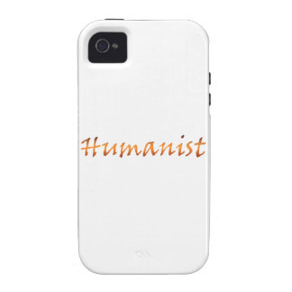 Humanist Gold Vibe iPhone 4 Case