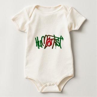 Humanist Graffiti Baby Bodysuit