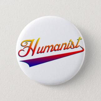 Humanist Orange Swash Button