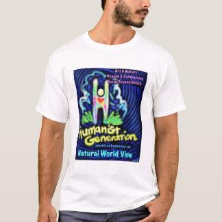Humanist T-shirt (fun, colorful design)