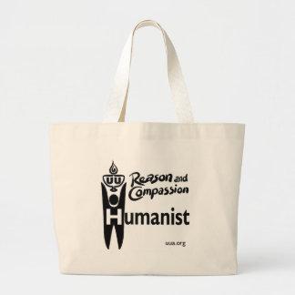 Humanista de UU Bolsa De Tela Grande