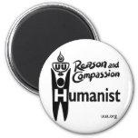 Humanista de UU Imán Redondo 5 Cm