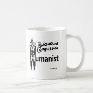 Humanista de UU Taza Básica Blanca