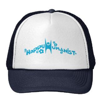 Humanista feliz maravilloso azul gorro