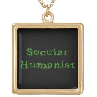 Humanista secular colgante