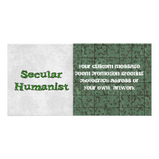 Humanista secular tarjetas personales