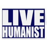Humanista vivo felicitacion