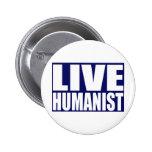 Humanista vivo pin