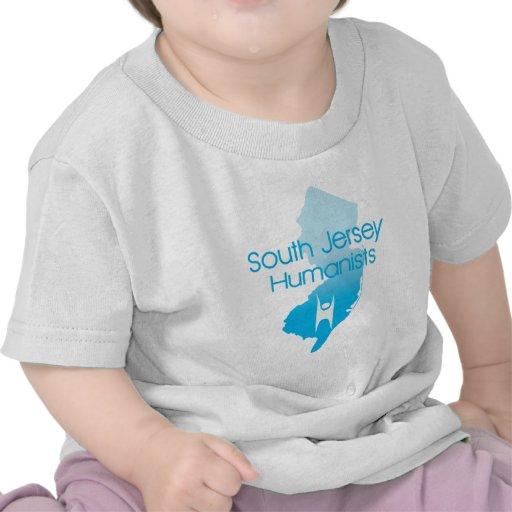 Humanistas del sur del jersey camisetas
