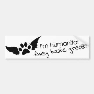Humanitarian Bumper Sticker