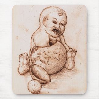 Humanities Child Mouse Pad