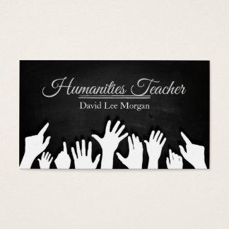 Humanities Teacher Business Card
