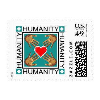 Humanity Logo Stamp