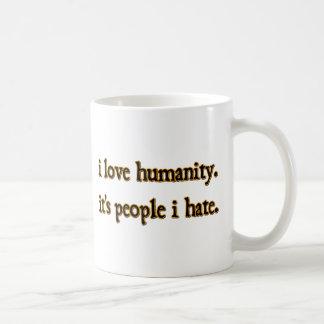 Humanity Classic White Coffee Mug