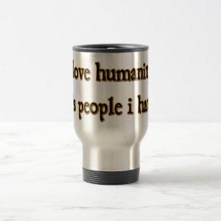 Humanity 15 Oz Stainless Steel Travel Mug