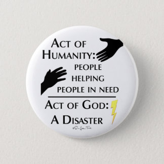 Humanity vs God Button