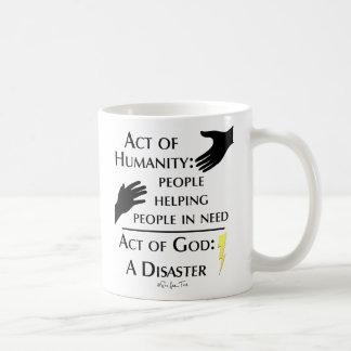 Humanity vs God Mug