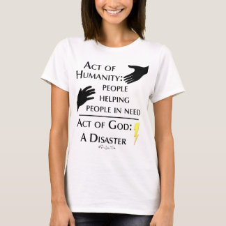 Humanity vs God T-Shirt