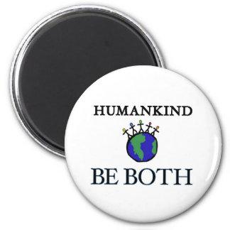 Humankind 2 Inch Round Magnet