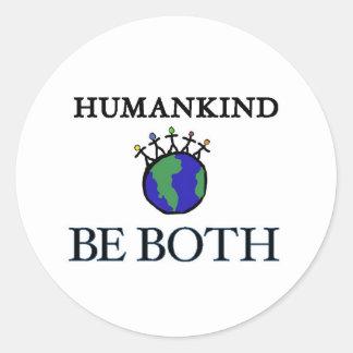 Humankind Classic Round Sticker