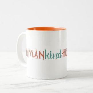 HumanKind Two-Tone Coffee Mug