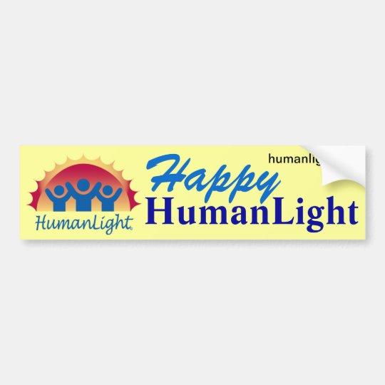 HumanLight Bumper Sticker