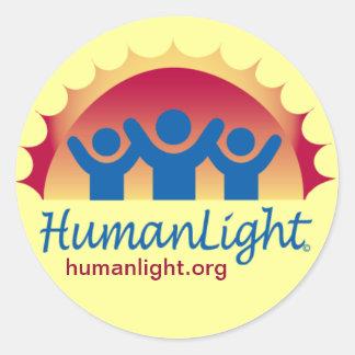 HumanLight Classic Round Sticker
