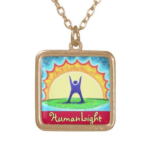 HumanLight Collar Dorado