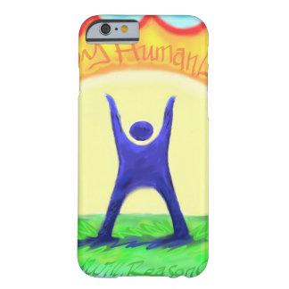 HumanLight.jpg feliz Funda De iPhone 6 Barely There