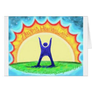 HumanLight.jpg feliz Tarjeta De Felicitación