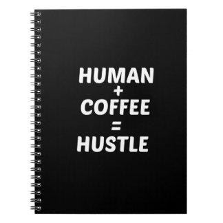 Humano + Diario de la tipografía del cuaderno del
