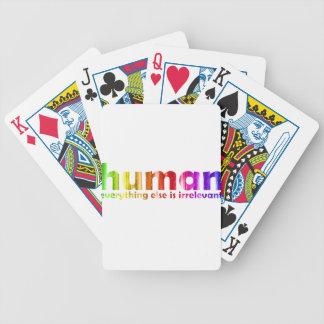 Humano - todo es inútil baraja de cartas