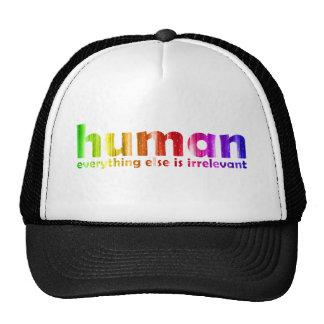 Humano - todo es inútil gorro de camionero