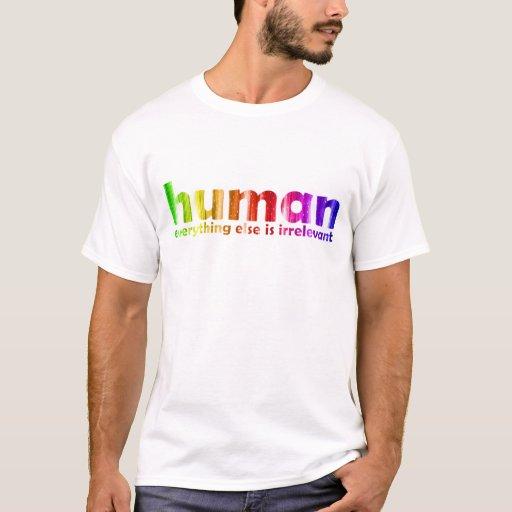 Humano - todo es inútil playera