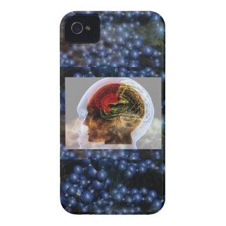 HUMANOID : Brain Brainy Science Biology Mind iPhone 4 Case-Mate Case