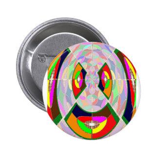 HUMANOID Happy Halloween Gifts Cartoon Comic KIDS 2 Inch Round Button