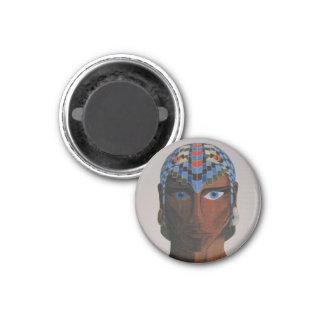 Humanoid Male Portrait Magnet