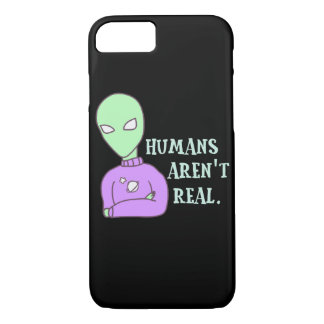 Humans Aren't Real iPhone 8/7 Case