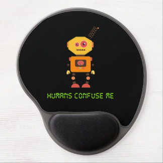 Humans Confuse Me Gel Mouse Pad