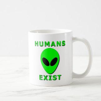 Humans Exist Coffee Mug