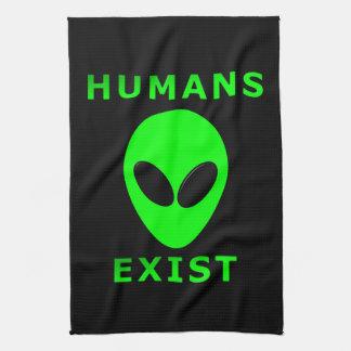 Humans Exist Kitchen Towel