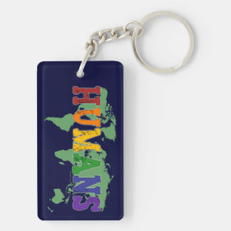 Humans Gay Keychain