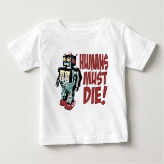Humans Must Die Tshirts