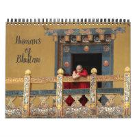 humans of bhutan calendar